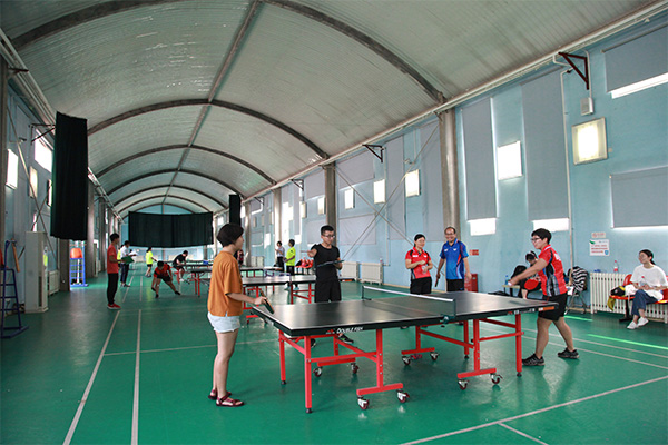 新东方2018财年在京机构乒乓球赛四强角逐