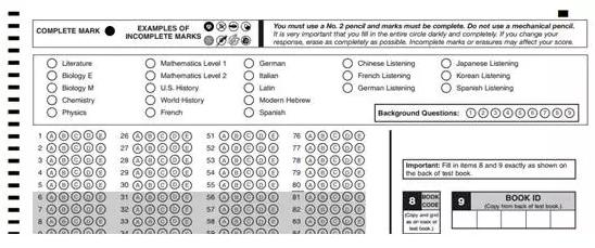 SAT2考试如果需要换科目、减科目、增科目怎么做?