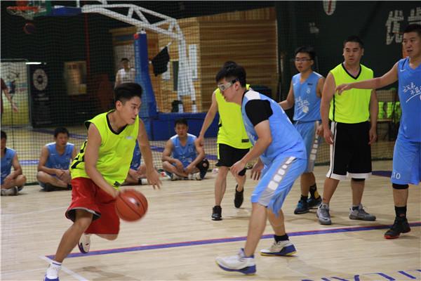 新东方2018财年在京机构运动会3V3篮球冠军角逐