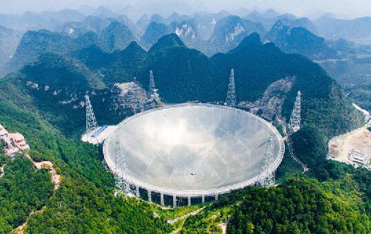 英语流行语:中国天眼首次发现脉冲星