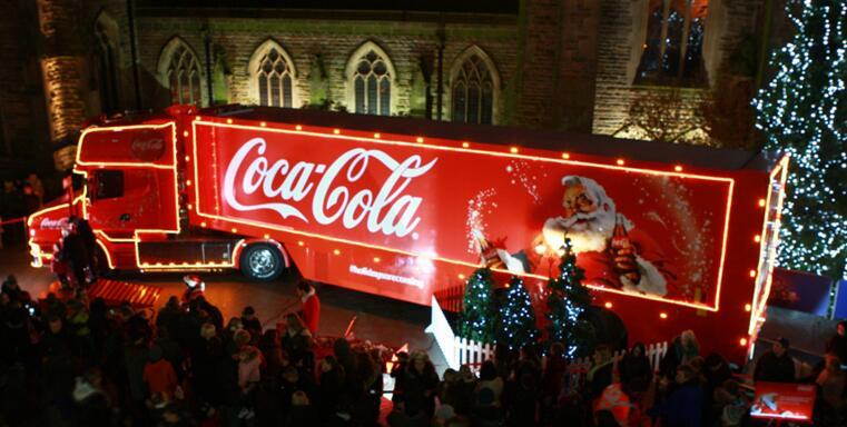 圣诞可乐卡车遭美禁止 理由是要控制肥胖的蔓延!