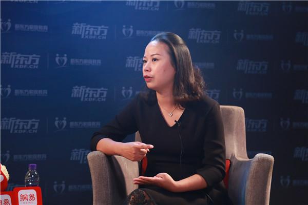 专访新东方教育科技集团副总裁、北京东方格希国际教育咨询有限公司总裁谢琴