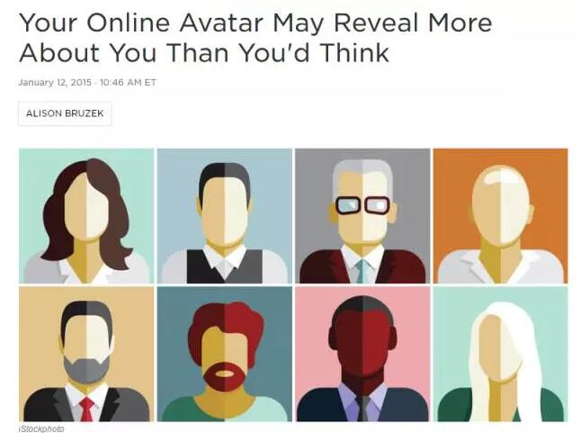 外媒研究:微信头像能反映你是什么样的人?