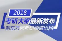 新东方2018考研大纲