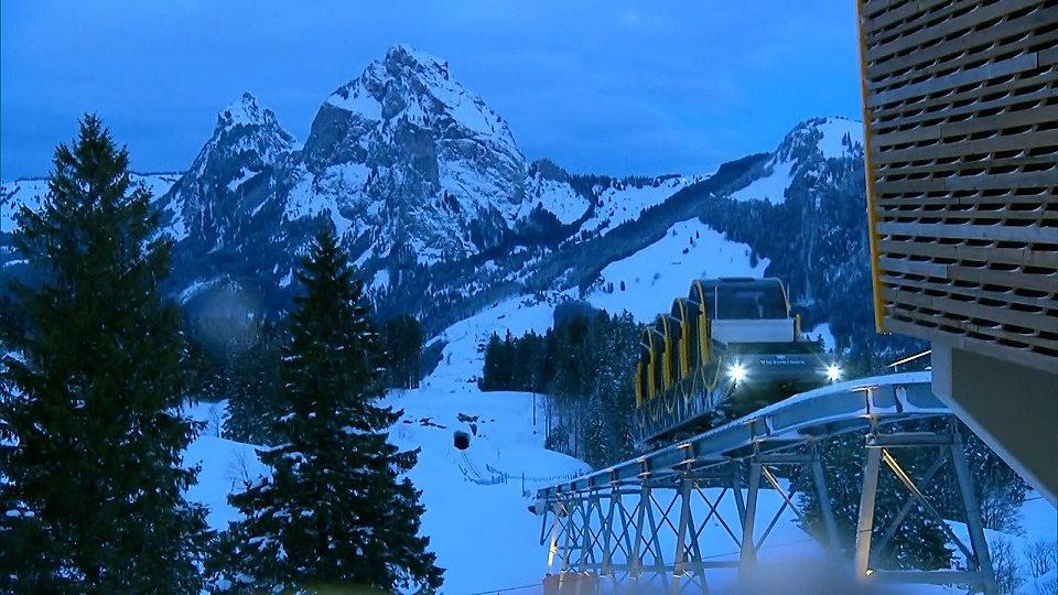 World's steepest railway line 世界上最陡峭的缆索铁路