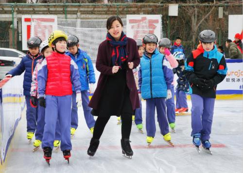 北京中小学生冰雪运动课程展示活动圆满结束