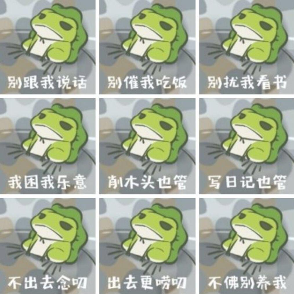 """""""青蛙旅行""""俘获无数少女心! 跟着佛系小蛙学点简单实用的英语"""