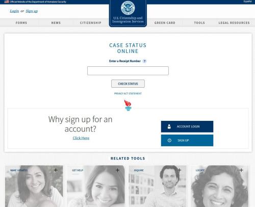 美国移民局新查询系统适用于4类移民申请