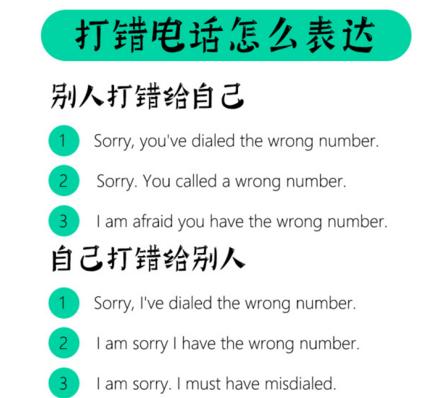 场景英语口语:怎么用英文打电话