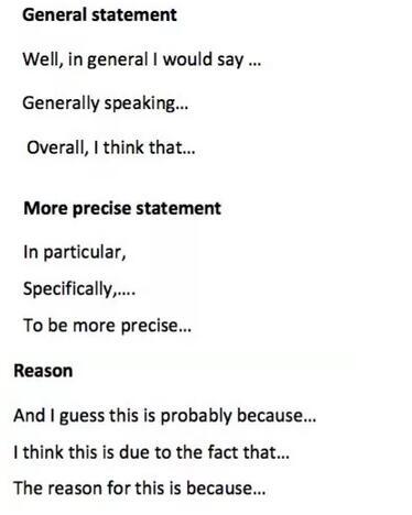 雅思口語擴展方法—從宏觀到具體