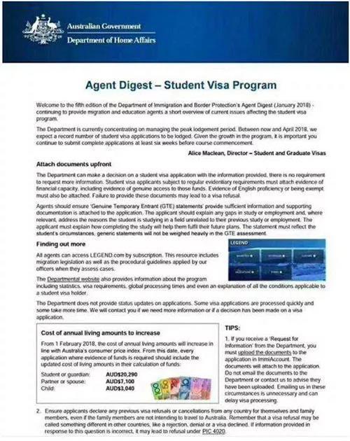 2018出国留学,主要国家签证须知