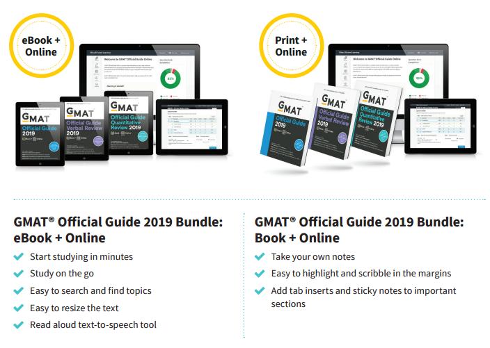 2019版GMAT官方指南(OG)即将发布