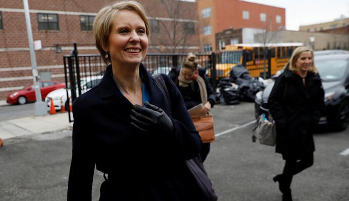 《欲望都市》女主正式开始竞选州长!
