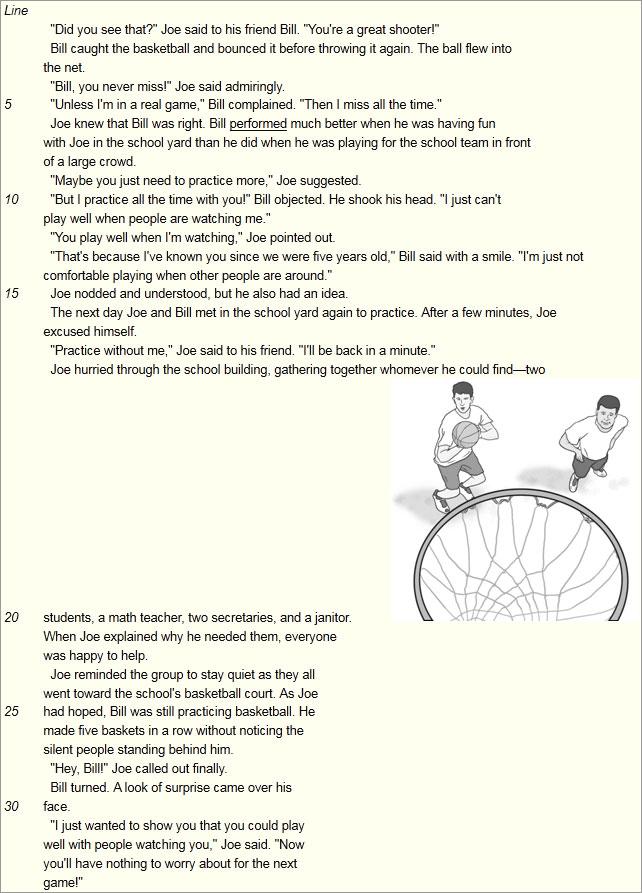 小托福样题分享--阅读理解