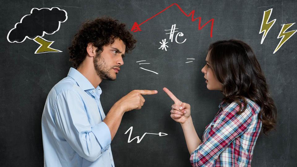"""Argue, quarrel, debate三个表示""""争论、争吵""""的单词"""