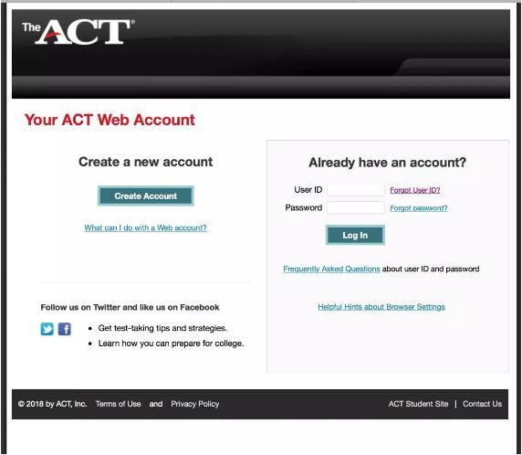 ACT官网