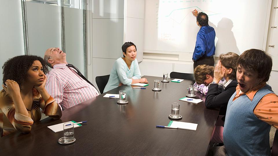 Can AI save us from bad meetings?人工智能给糟糕的会议画上句号?