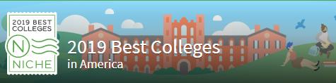 Niche发布2019美国大学排名Top100榜单