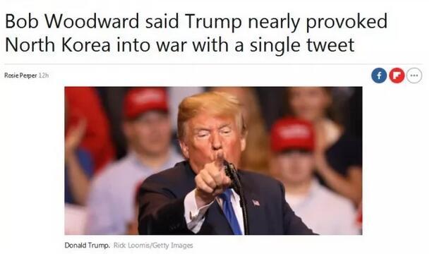 """特朗普喜欢""""推特治国"""" 但幸亏这条没发出去...(双语)"""