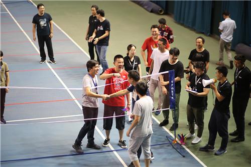 趣味运动会上友谊第一 比赛第二