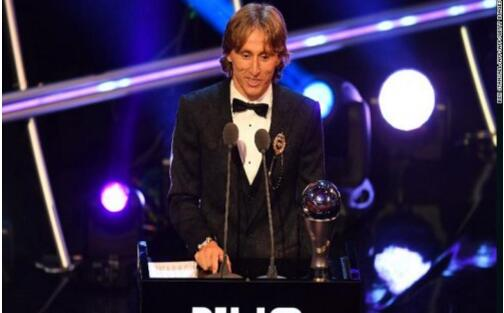 FIFA年度颁奖典礼:莫德里奇获得2018世界足球先生