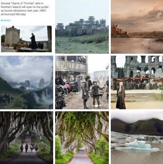 出国旅游常用口语:《权游》取景地将对游客开放 趁着十一长假走起!