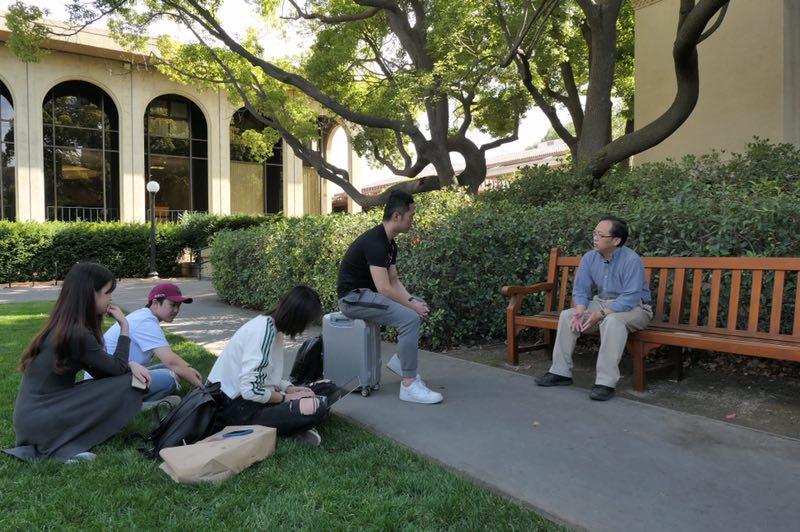 斯坦福大学采访