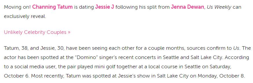 外媒:Jessie J钱老板恋情曝光