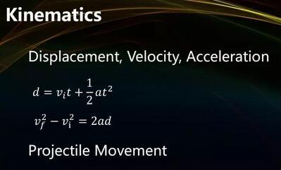 SAT2物理知识点与实际应用——基础运动学