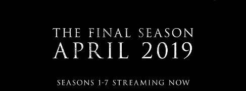 官宣!《权力的游戏》第8季开播时间已定