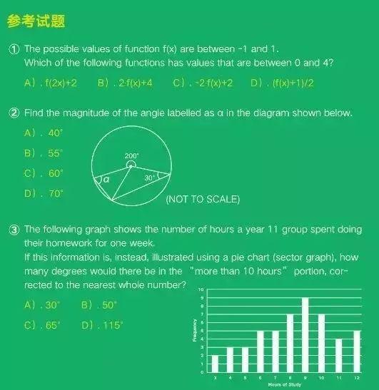 澳大利亚数学学术能力测评等你来