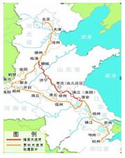 【提示】      京杭大运河开凿于公元前486年,距今已有2500多年