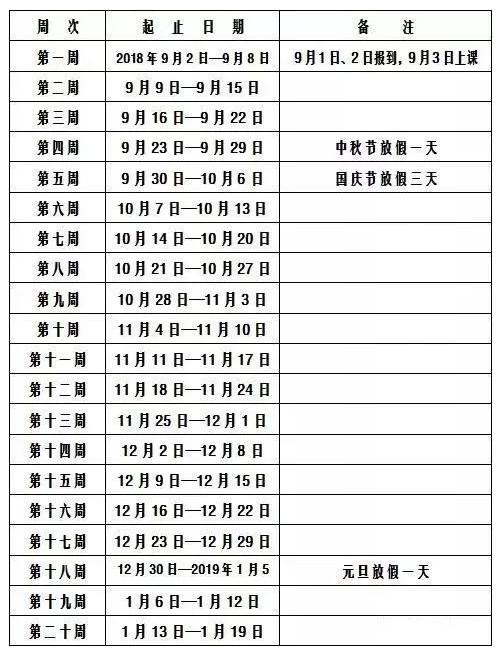 2019长沙中小学寒假放假时间公布(含2019学年校历)