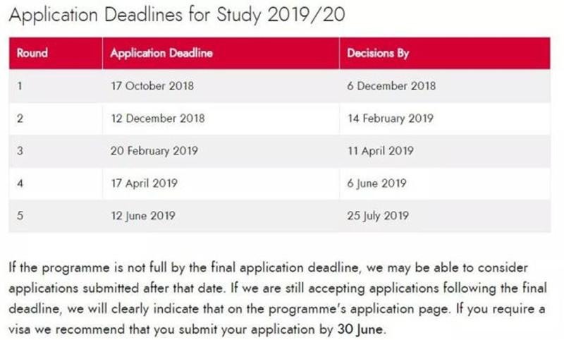 考研后申请英国留学还来得及吗 各校申请截止日期一览