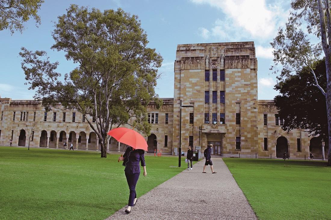 澳大利亚名校图集:昆士兰大学