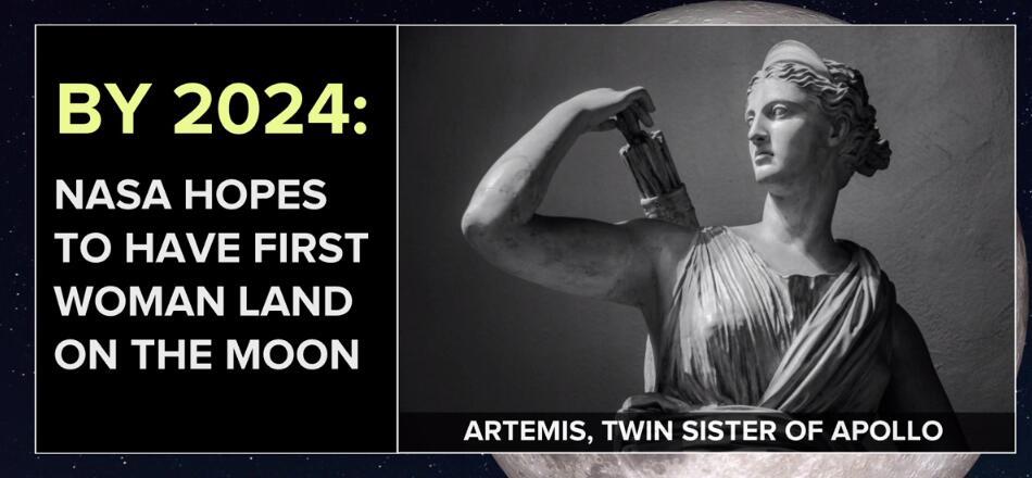 NASA2024年将送首位女宇航员登月