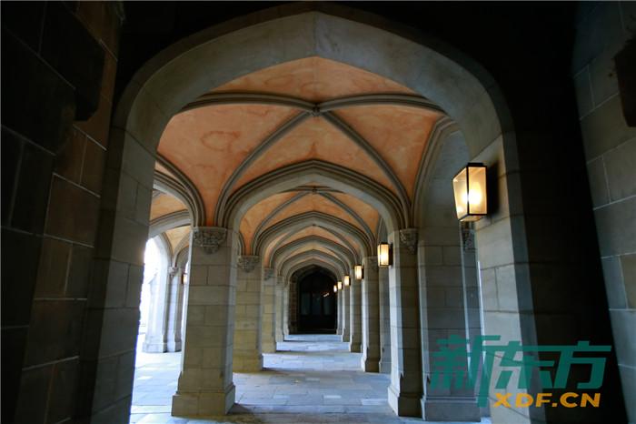 墨尔本大学校园长廊