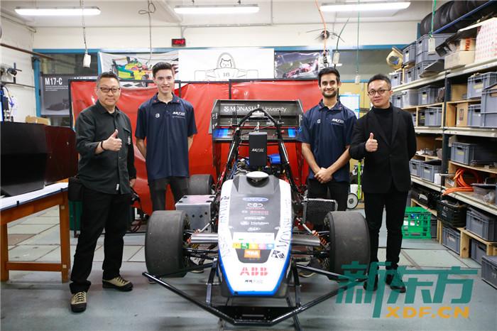 学生做的蒙纳士版F1赛车