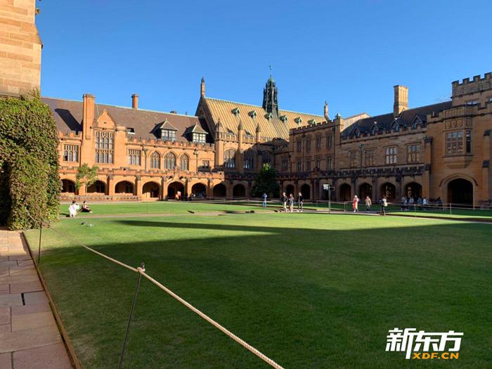 悉尼大学哈利波特哥特古建筑群