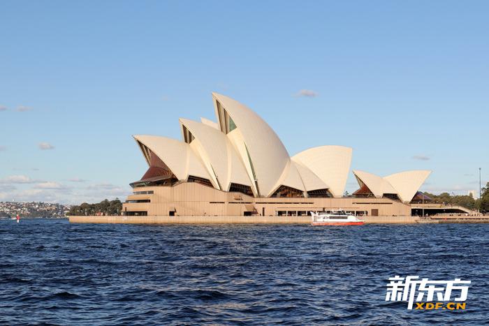 著名的悉尼歌剧院