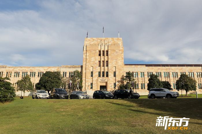 昆士兰大学主楼一角