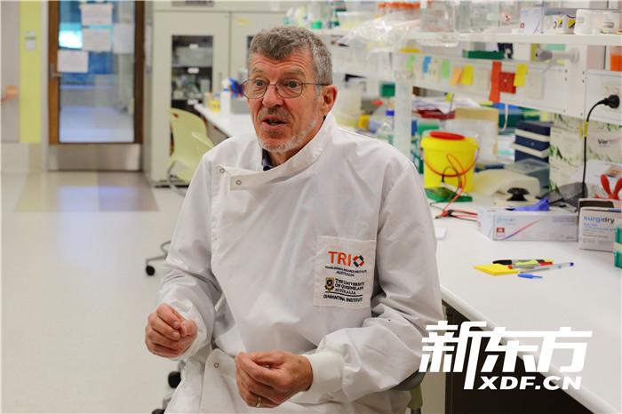 宫颈癌疫苗发明者伊恩·弗雷泽教授