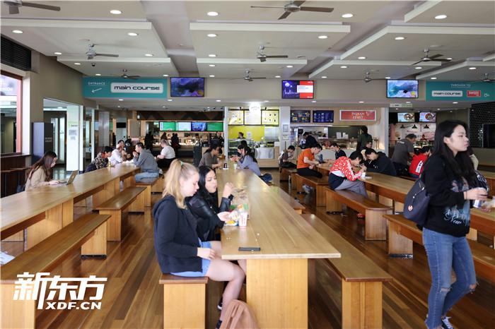 昆士兰大学食堂