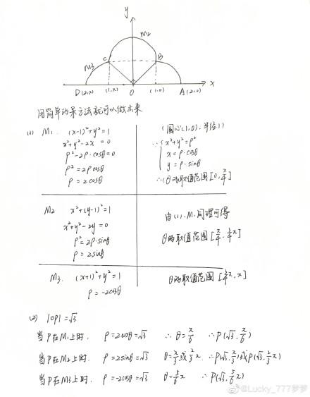 2019高考数学:全国卷3考了朵云