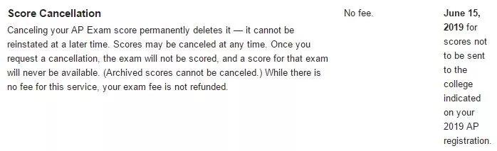 关于AP成绩学分兑换、保留、取消、复议的问题