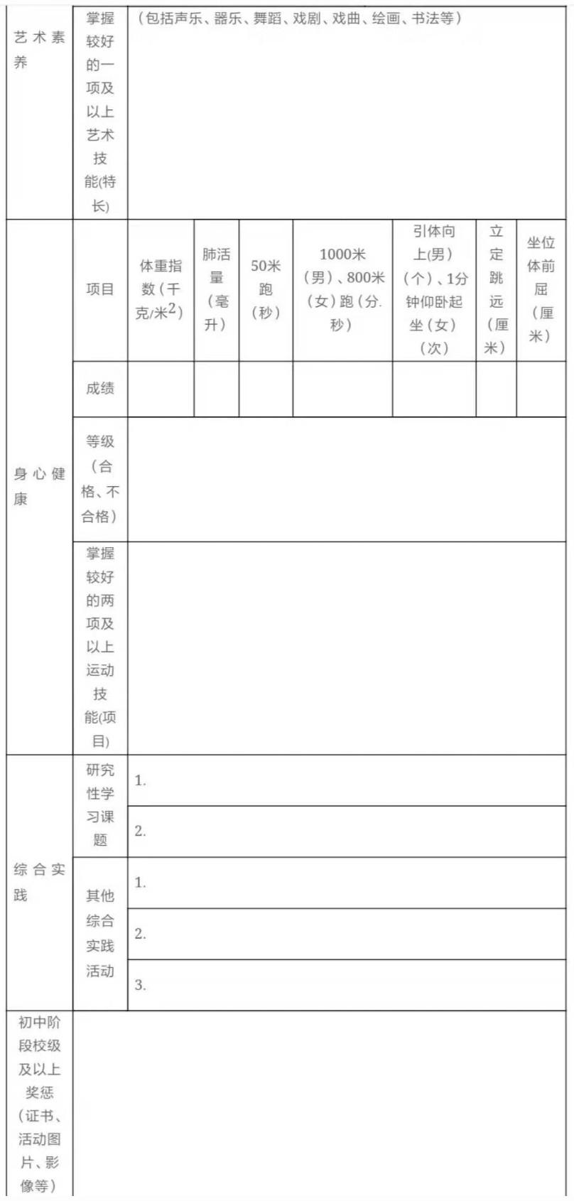 2019关于印发《成都市初中学生综合素质评价实施方案》公告