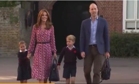 夏洛特公主开学第一天 英国托马斯小學怎么样?