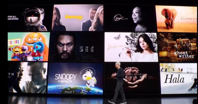 2019秋苹果新品发布会 :《权游》马王原创剧《See》的预告片