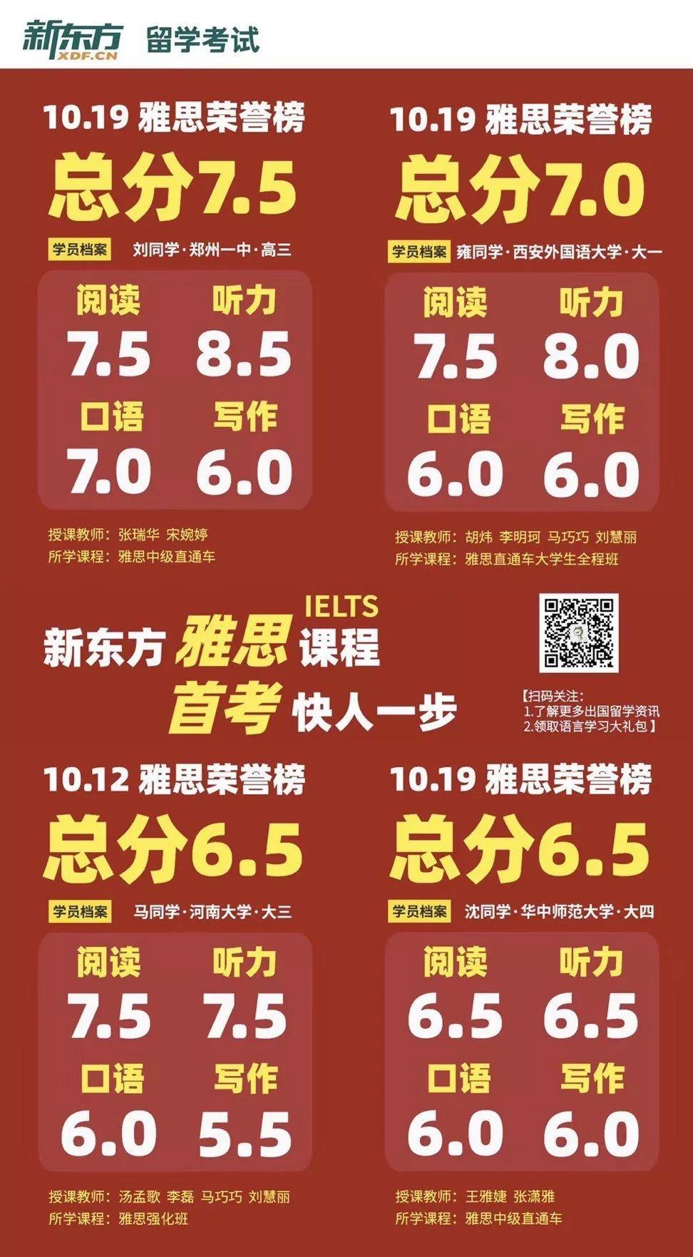 郑州新东方出国留学