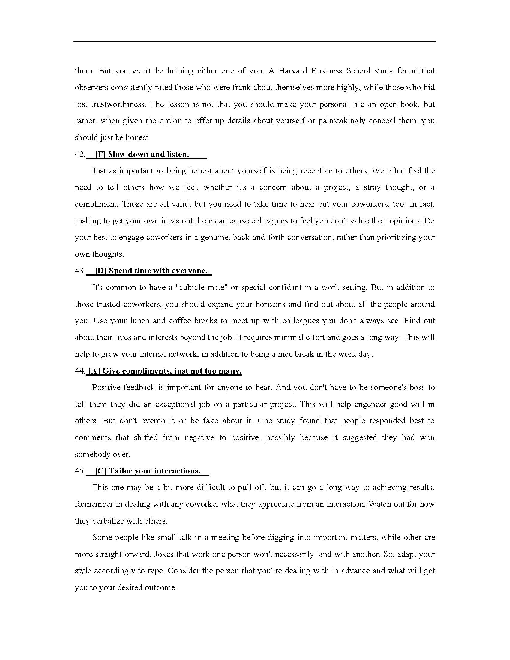 考研英语答案